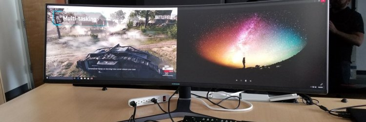 Samsung Introduces Chg90 New 49 Inch Super Ultrawide Gaming Monitor