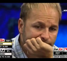 Playing good poker is about making as few mistakes as possible