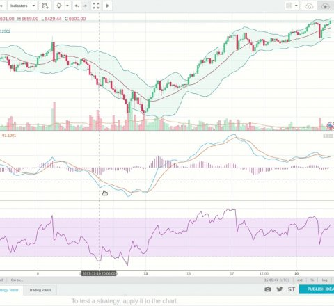 learn article about Good Indicators for trading crypto currencies